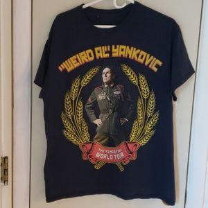 Weird Al yankovic concert 2015 tee shirt